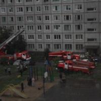 В Омске из пожара в девятиэтажке спасли 46 человек