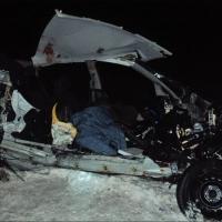 На трассе в Омской области разбились футболистка и ее дядя