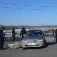 На трассе Тюмень – Омск произошло ДТП с участием двух иномарок