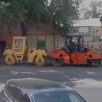 На дорогах города и Омской области уложено 80% асфальта