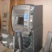 В администрации Октябрьского округа взломали банкомат