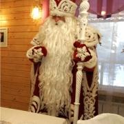 Дед Мороз прочитал поздравительный рэп для омской молодёжи