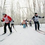 Окружная субботняя лыжня
