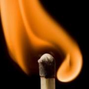 Житель Омской области загорелся