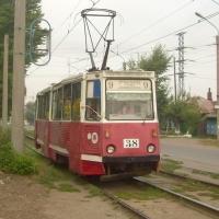В Омске движение трамвая № 9 приостановили на трое суток