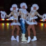 «Сибирский сказ» на льду дворца