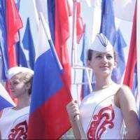 Сотрудники ФСБ поздравили омичей в День России