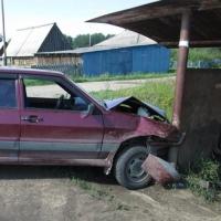 Житель Омской области угнал автомобиль, чтобы съездить в гости