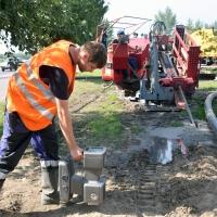 Омский водоканал заменит ветхий водопровод на набережной Иртыша без повреждения дорожного полотна