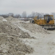 """""""Стройиндустрия"""" незаконно вывозила снег"""