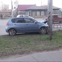 Автоледи с пассажиром-ребенком попала в ДТП