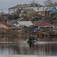 В Омской области остаются затопленными более 60 домов и 90 участков