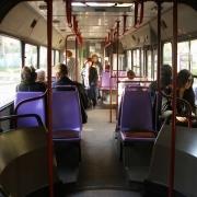 В Омске автобус № 121 сбил пешехода