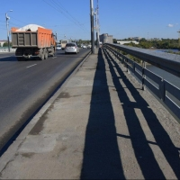 В Омске ночью на мосту у Телецентра будет ограничено движение