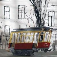 Дизайнер Ольга Алексеева бесплатно обклеит «Трамвай радости» фотографиями омичей