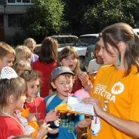 В Омске открылись досуговые площадки для детей