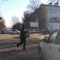 В Омске на улице Химиков сбили очередного пешехода-нарушителя