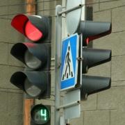 На перекрестке Левобережья отрегулировали светофор