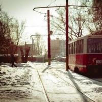 На омские маршруты вышел третий московский трамвай