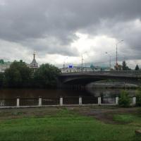 Бурков поддержал идею создания пешеходного мостика через Омь
