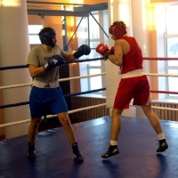 Омским блогерам провели экскурсию по новому Дворцу бокса