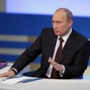 Прямая линия с Путиным пройдет в конце апреля