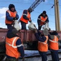 По железным дорогам Омской области пустят противоразмывные поезда