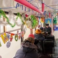 В новогоднюю ночь из главного парка Омска будут ходить автобусы