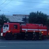В Ленинском округе Омска произошло два больших пожара