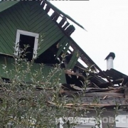 В Омской области под обломками крыши погиб ребёнок