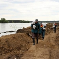 В Усть-Ишимском районе Иртыш может подняться еще на 3 сантиметра