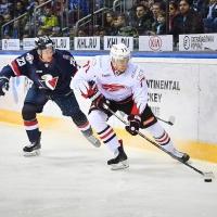 Омские хоккеисты одержали победу в игре с братиславским «Слованом»