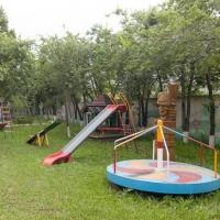 Трехэтажный коттедж с истуканом и бассейном продают в Омске за 110 млн рублей