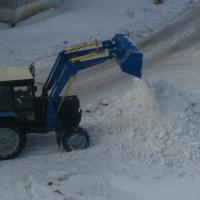 Основные работы по уборке снега в Омске начнутся вечером