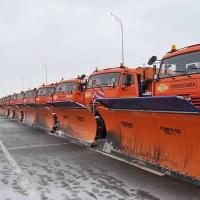 В новогодние праздники омские улицы будут чистить 350 машин