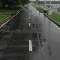 При разработке проекта велодорожки в Советском округе Омска возникли проблемы с землей
