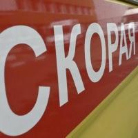 В Омске легковой автомобиль столкнулся с маршруткой