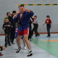 Омские мастера кунг-фу провели тренировку в интернате