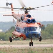 В Омской области при посадке разбился вертолёт