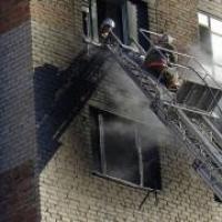 В Омске 50-летний мужчина сгорел у себя в квартире