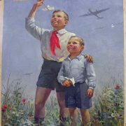 Омичам покажут советские плакаты