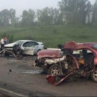 По дороге на Алтай омская семья попала в ДТП