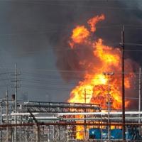 В Новосибирске взорвался цех на заводе искусственного волокна