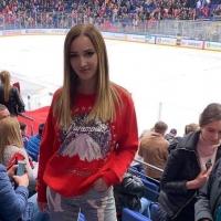 Бузова сходила на матч ЦСКА, чтобы посмотреть на соперника «Авангарда»