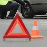 В Омске на Горбатом мосту столкнулись пять автомобилей