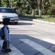 В Омске на переходе сбили пятилетнего мальчика