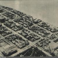 Найдено фото с самолета на центр Омска 1932 года