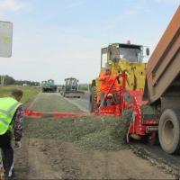 Дорожникам Омской области поставили задачу уложить асфальт до 20 сентября