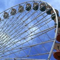 В Омске появилось новое колесо обозрения