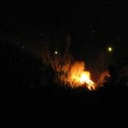 На Заозёрной вновь горят дачи